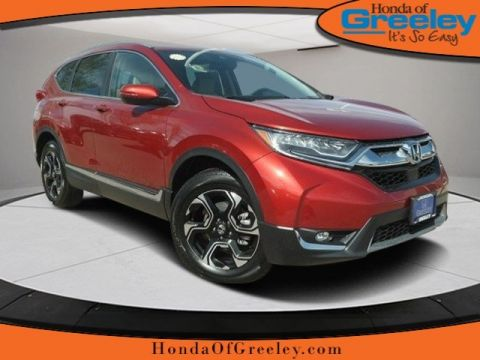 New 2017 Honda CR-V Touring With Navigation & AWD