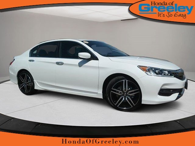 New 2017 honda accord sport se 4dr car in greeley 17h017 for 2017 honda accord lease price