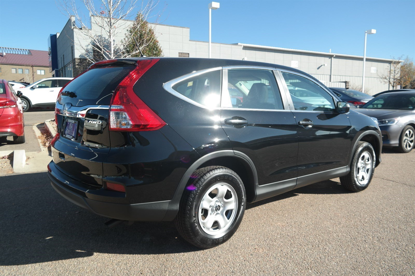 new 2016 honda cr v lx sport utility in greeley 16h885. Black Bedroom Furniture Sets. Home Design Ideas